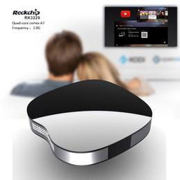 Wholesale Pc Full Hd - Great Apple shape IX2 andrid tv box RK3229 Smart Mini PC quad core 1GB 8GB 4K 3D Movies Media Player Phoenix pre-loaded