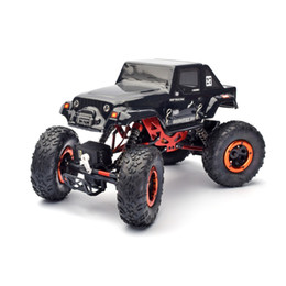 Wholesale Power 4wd - Wholesale- HSP Rc Car Kulak 1 18 Scale 4wd Remote Control Car Electric Powered Off Road Crawler 94680S Four wheel Steering Two Servos Car