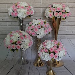 Wholesale Wholesale Wedding Sites - The new road lead T station road lead flower hydrangea wedding site layout props decorative items