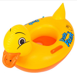 Wholesale Ducks Pool - 97*54CM Giant Inflatable Pool Float Yellow Duck Pool Toys High Quality And Cute Swimming Pool Toys For Kids