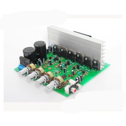 Wholesale Amplifier Professional - Freeshipping New Double 15-28V AC High Power Deep Bass 2.1 Amplifier 3 Channel Subwoofer Professional Amplifier Board