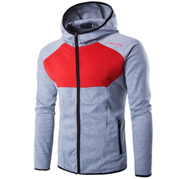 Wholesale Newest Brand Hoody - Newest 2017 Fashion Mens Patchwork Hoodies Sweatshirts Fleece Hoody Men Brand Sportswear Men's Tracksuits Hooded Men Jackets