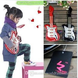 Wholesale Backpacks Guitars - Children's Bags Backpacks children cute cool guitar messenger school bag backpack style oblique bags Children's Accessories should