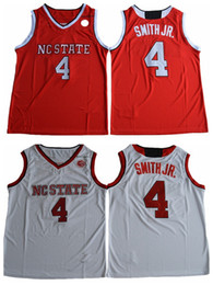 Jerseys jr smith on-line-2017 mais novo estado nc wolfpack dennis smith jr. faculdade jersey de basquete barato dennis smith jr. camisas costuradas basquete jersey mens