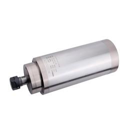 Enfriador de agua cnc online-Alta calidad ER20 400HZ 3kw refrigerado por agua cnc enrutador 24000 rpm motor cnc huso 3000 w 10A