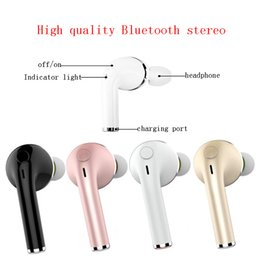 Wholesale Free Usb Driver - VOVG V1 Mini Bluetooth Earphone CSR4.1 Wireless Music Handsfree Car Driver Headset Phone Stealth Earbuds With Microphone Epacket Free