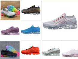 Wholesale Round Toed Shoes For Women - Casual Shoes Vapormax Mens Running Shoes For Men Sneakers Women Fashion Athletic Sport Shoe Hot Corss Hiking Jogging Walking Outdoor Shoe