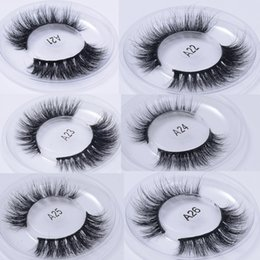 Wholesale Long Lasting False Eyelashes - private logo Mink Lashes 3D Mink False Eyelashes Long Lasting Lashes Natural Lightweight Mink Eyelashes Glitter Packaging New 1 Pair