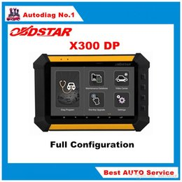 Wholesale Bmw Key Pad - OBDSTAR X300 DP X-300DP PAD Tablet Key Programmer Full Configuration X300DP PAD One Key Upgrade