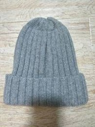 Wholesale Wool Mens Knit Hat - M66 popular UK free size Fashion Popular Hats real cotton Hat wool knitted beanie ski Winter Women and mens Christmas Gift