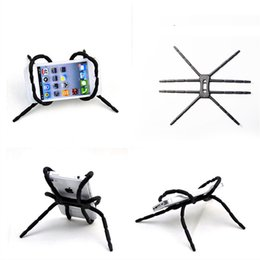 Wholesale Hot Pink Hangers - Hot Selling Universal Spider phone holder for all cellphones Car Phone camera Hanger hook Grip Holder Mount for GPS free shipping