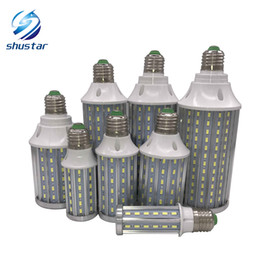 Wholesale Flickering Led Bulbs - Ultra Bright PCB Aluminum 5730 SMD LED Corn Bulb 85V-265V 10W 15W 20W 25W 30W 40W 60W 80W No Flicker LED Lamps
