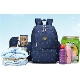 Wholesale Maternity Leopard Print - Wholesale Fashion Mummy Maternity Nappy Bag Brand Large Capacity Baby Bag Travel Backpack Desinger Nursing Bag for Baby Care