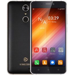 Wholesale S3 Greece - KINGZONE S3 Smartphone 3G MTK6580A Quad Core 5.0Inches 1280 * 720 Pixels Android 6.0 1GB RAM+16GB ROM 5MP+8MP 2600mAh Cellphone +B
