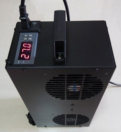 caja de la computadora control del ventilador Rebajas Envío gratis 1x máquina de refrigeración de agua Termoeléctrica Enfriador de agua para el disipador de calor de la computadora Acuario Fish Tank 100L