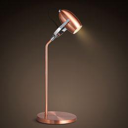draußen mobile bars Rabatt Moderne metallisierung led lesung schreibtischlampe einstellbare winkel ein kopf lampe kreative mode buch schreibtisch lampen