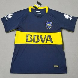 Wholesale Boca Juniors Shorts - Thailand 2017 2018 Boca Juniors Soccer Jerseys 17 18 GAGO CARLITOS HOME AWAY Football jersey shirts Boca Junior 17 18 camisetas de futbol