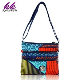 Wholesale Ladies Waterproof Messenger Bag - Wholesale-2016 Original brand Women Lady Nylon Waterproof Shoulder Bag Multifunction Zipper Messenger Travel Monkey Bag Bolsa Feminina
