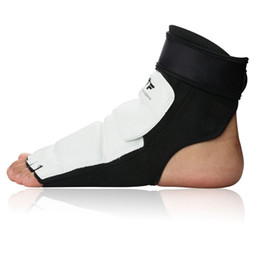 Wholesale Karate Martial Arts - Wholesale- hot sale taekwondo foot protector Sock for adult child instep ankle support KAT official competition martial art karate foot pad