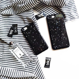 Wholesale Cheap Iphone Case Packages - darknight all stars shining tpu iphone7 phone case creative cover for iphone7with plastic bag packaging simple shinning nice cheap tpu