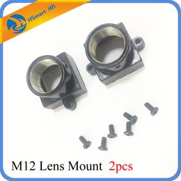 Wholesale Ccd Board Camera Wholesale - 2PCS Metal M12 Lens Mount MTV Security CCTV Camera m12 Lens Holder Bracket Support Board Module For CCD AHD TVI 1080P mini Cam