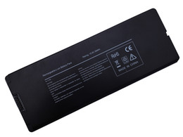 "Wholesale Macbook Battery Mah - 6Cell New Laptop battery for Apple MacBook 13"" A1181 A1185 MA566FE A MA566G A MA566J A Black"