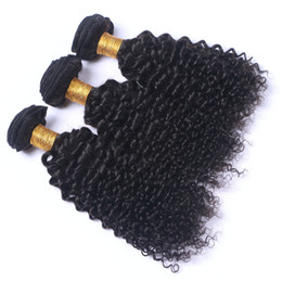 Wholesale Mongolian Kinky Curl Weave - Brazilian Curly Virgin Hair Peruvian Malaysian Indian Cambodian Mongolian Kinky Curly Human Hair Weave Bundles Deep Curl Unprocesse Hair