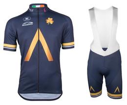 Maillot cyclisme manches courtes en Ligne-2017 AQUA BLUE PRO TEAM 4 DESIGN MANCHES COURTES CYCLING JERSEY ESTIVAL VÊTEMENTS CYCLINGES ROPA CICLISMO + BIB SHORTS SET DE GARNITURES 3D GEL TAILLE: XS-4XL