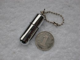Wholesale Mini Keychain Lighters - Wholesale-Portable super mini oil lighter , kitchen and cigarette metal pill keychain vintage kerosene lighters gadgets