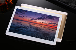 Wholesale Tablet Pc Capacitive 32gb - NEW 10.1 inch tablets Android 6.1 Octa Core 2GB RAM 32GB ROOM 3G Phone Call with Bluetooth Wifi Dual Camera Tablets