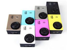 Wholesale Used Hd Pro - Waterproof 2.0 Inch LCD Screen SJ4000 style 1080P Full HD Camcorders Helmet Sport DV 30M Action Camera VS SJcam GO Pro