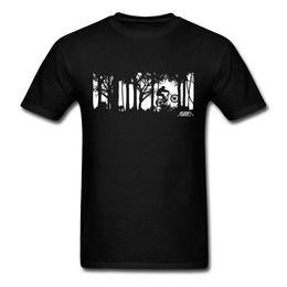 Wholesale Mountain Tee Shirts - MTB Mountain Biking Men T Shirt Werewolf Men's T-Shirt Pre-Cotton Tops Normal Clothes Men's Cool Tee Shirts Male
