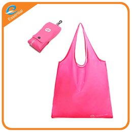 Wholesale Plastic Weave Bag - Non-woven folding shopping bags custom personality logo kitchen storage bag home essential