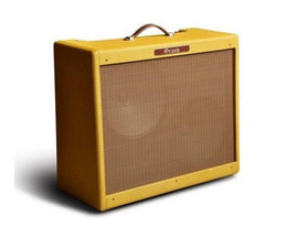 Wholesale Electric Guitar Instrument - G-40 40W Hand Wired All Tube Electric Guitar Amplifier Combo with Tweed Vinyl Grill Cloth 2*12 Speaker Musical Instruments Free Shipping