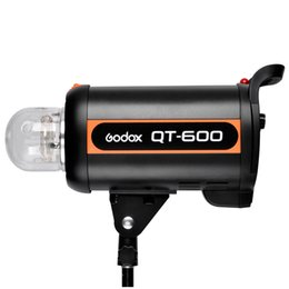 Wholesale Strobe Light Godox - Wholesale-Godox Professional QT-600 600W HSS 1 5000s Studio Strobe Flash Light QT600