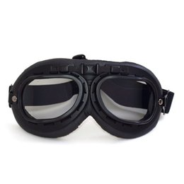 Wholesale Desert Glasses - Brand new high quality Motorcycle Goggles Vintage Dustproof ATV Motorbike Desert Riding Glasses Oculos Antiparras Gafas S08