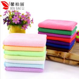 toalhas de microfibra por atacado para carros Desconto Toalha de microfibra atacado 30 * 30 nano pano absorvente para esfregar toalha limpa lenço toalha direto da fábrica do carro
