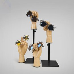 Wholesale Hand Bag Store - Great Quality Wood Hand Mannequin Dummy Wood Grain Joint Hand For Watch Jewelry Sunglasses Bag Clothing Store Display