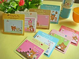Wholesale Notepad Animal Sticky - kawaii Cartoon 30pages Animal Sticky Notes Creative Post Notepad Filofax Memo Pads Office Supplies School Stationery