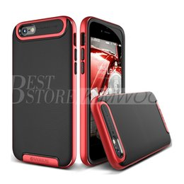 Wholesale Phone Protector Cases - V-ERUS Armor Hybrid Cover Ultra Slim Protector Phone Case For Iphone 6 6S 7 Plus Samsung Galaxy S6 S7 Edge Note 5 Cases