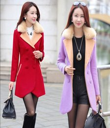 Wholesale Big Funding - Cloth coat female han edition new fund 2017 autumn and winter big yards short woolen cloth coat loose tit is more students