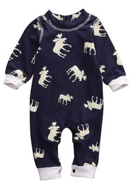 Wholesale Baby Summer Suits Romper - Newborn Baby Clothes Toddler Romper Suit Climbing Boys Boutique Clothing Long Sleeve Jumpsuit Legging Warmer Onesies Kids Children Leotards