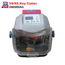 Wholesale V8 Toyota - 2017 Automatic V8 X6 Key Cutting Machine with Dust Cover can be used with the key keyless condition, lightweight and portable,