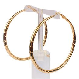Wholesale Basketball Wives Earrings Large Hoop - Wholesale Gold Color Basketball Wives Large Hoop Earrings Big Hoop Earrings for Fashion Women Party Jewelry