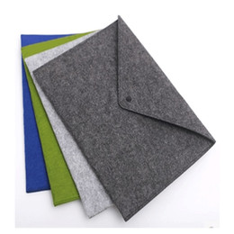 Wholesale Wool Ipad - Fashion wholesale cheap brand new wool felt ipad laptop bag Logo availalbe color customerized