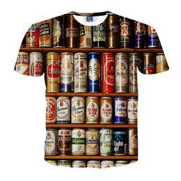 Argentina Nueva marca de moda camiseta Hip Hop impresión 3d TinHarajuku Animación impresión del cráneo camiseta verano camisetas frescas Tops ropa de marca 5XL Suministro