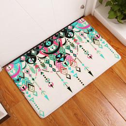 Wholesale Diy Carpets - Bath Mat Ethnic Style Digital Non Slip Originality PVC Water Uptake Carpet 3D Printing Non Slip Suction Shower Pad 9 8xrg J R