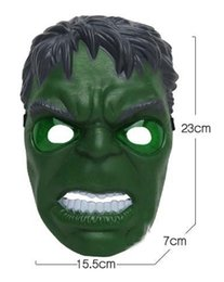 Wholesale Gag Masks - Supply luminous toy ball mask Green giant masks Show the Weapon toy Gags & Practical Jokes