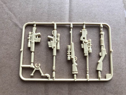 Wholesale Children Military - Military Series Guns Weapons Building Blocks Brick SWAT Police Action Figure Assemble Accessories Children Gift Toys