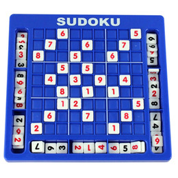 Wholesale numbers for children - Sudoku Cube Number Game Sudoku Puzzles for Kids Adult Math Toys Puzzle Table Game Children Learning Educational Toys DHL free shipping